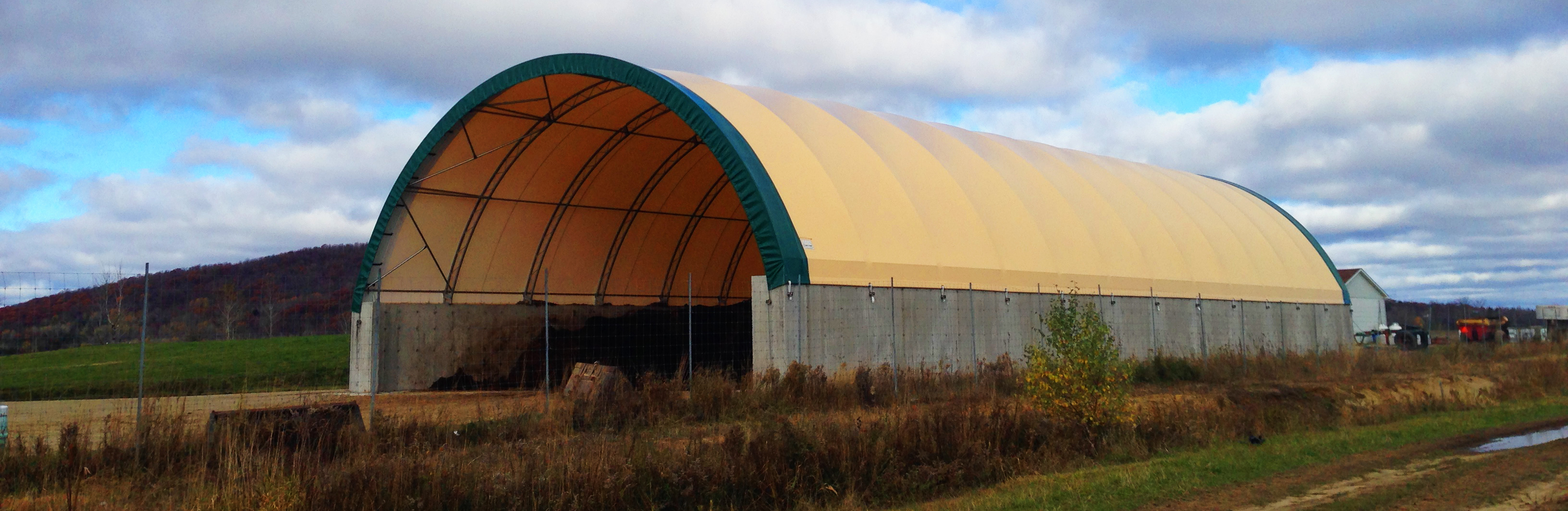 Storage Solutions Fabric Covered Storage Buildings