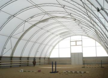 Steel Buildings Ontario >> Equestrian | Fabric Covered Storage Buildings | Cover All That Matters to You | Tasco Dome